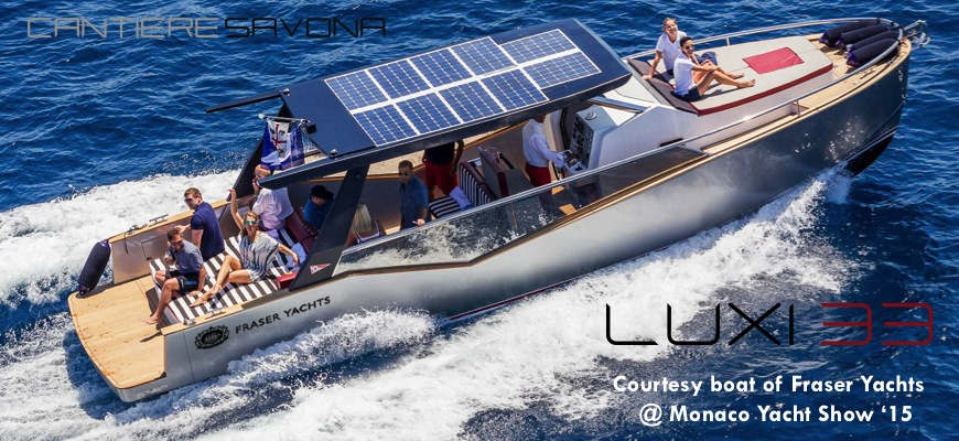 Luxi33 Courtesy boat of Fraser Yachts @MYS15