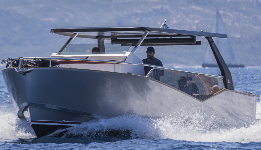 Luxi33, Hybrid Courtesy Boat of Rolex Cup 2015