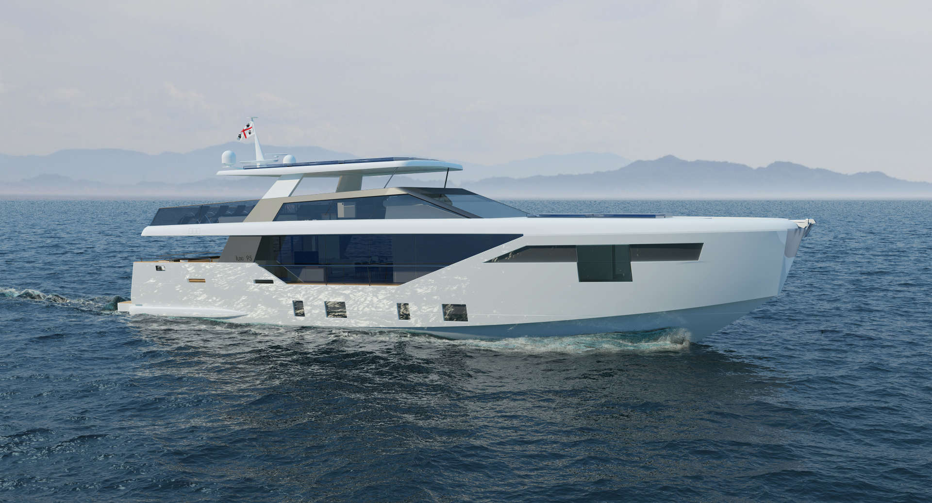 Luxi95, The Ultimate Solar Motoryacht