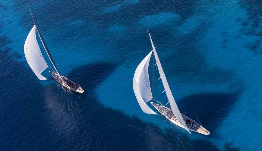 Luxi33 courtesy boat of Rolex Cup 2015
