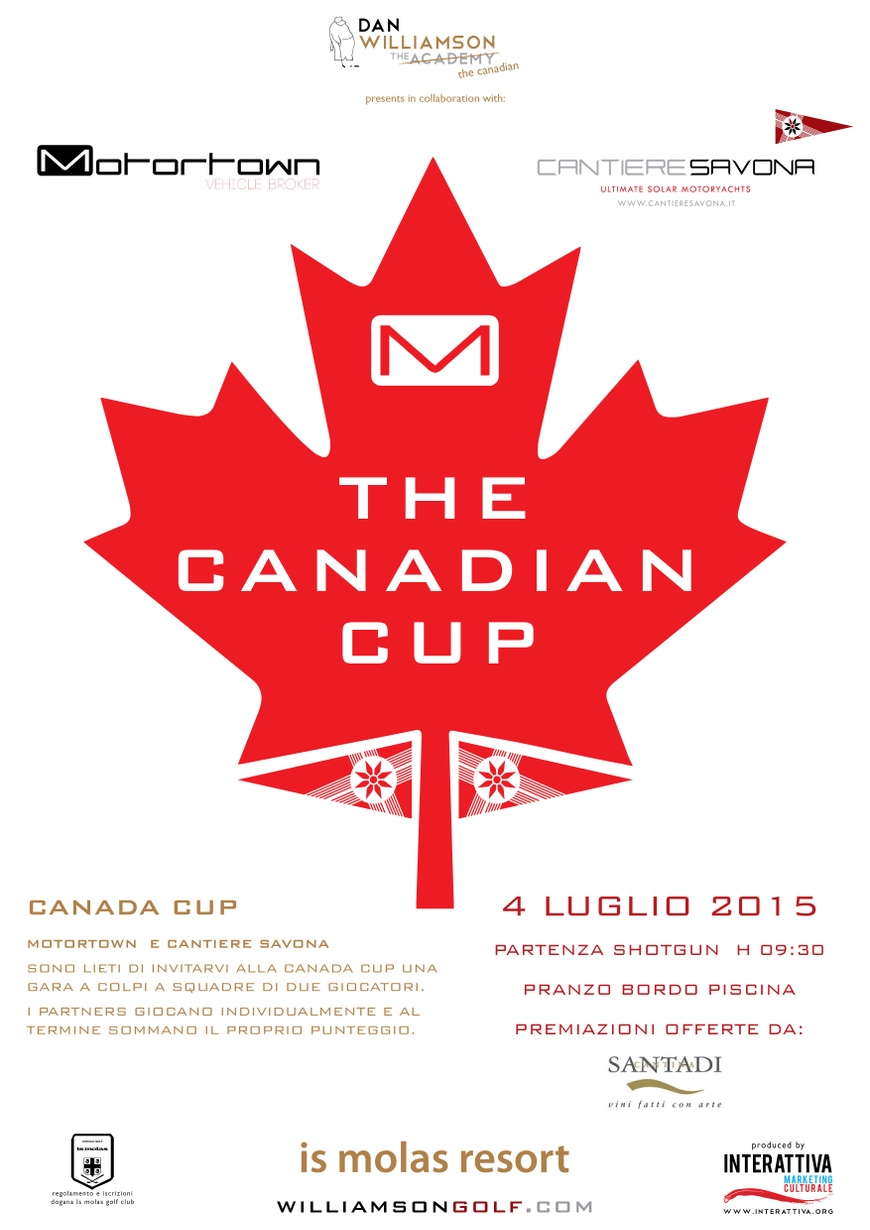The Canadian Cup realized by Interattiva Marketing Culturale